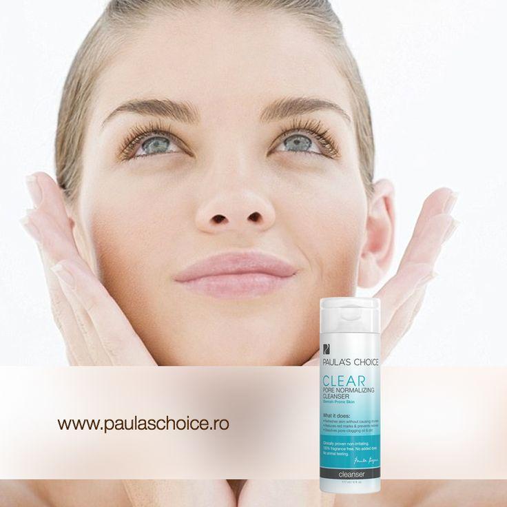 Dacă ai tenul predispus la acnee, încearcă Clear Pore Normalizing Cleanser, o loțiune mătăsoasă cu efect răcoritor care acţionează din plin asupra pustulelor. Blândă cu pielea ta, aceasta funcționează rapid pentru a îndepărta machiajul și a curăța tenul în profunzime. Iar până duminică, poți să achiziționezi cleanserul cu 10% reducere!