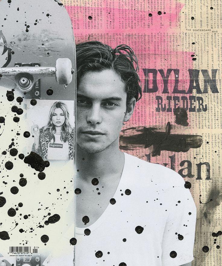 Skateboarding Mag - Dylan Rieder