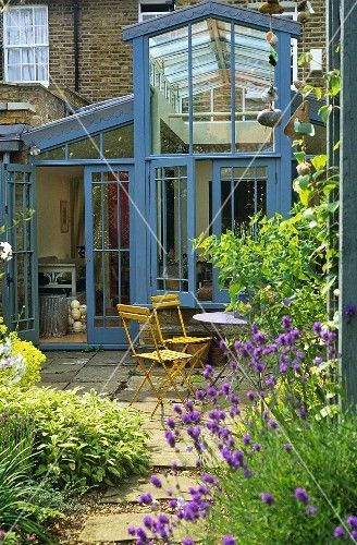 Double height conservatory