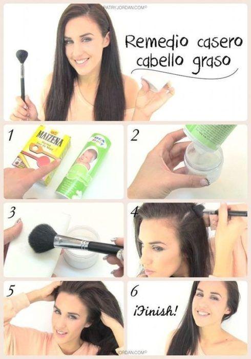 hacks para el cabello