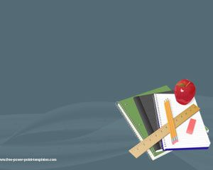 Free school PowerPoint template background