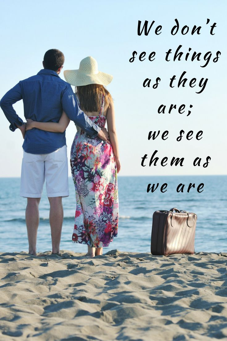 """""""We don't see things as they are; we see them as we are"""" #Relationship #Quote #DrHercules #ReadyforLoveAgain Watch video - https://youtu.be/tULmYLB-g_s Course - http://www.readyforloveagain.com"""""""