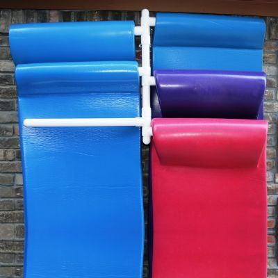 Pool Float Storage 6 Float Rack Wall Mounted
