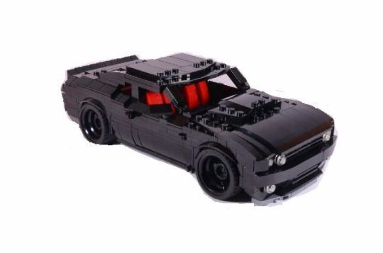 Lego Custom Dodge Challenger Charger Black Sport Car Racing Speeding Vehicle #LEGO