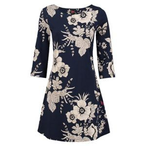 Dress Mollie Butterfly Navy