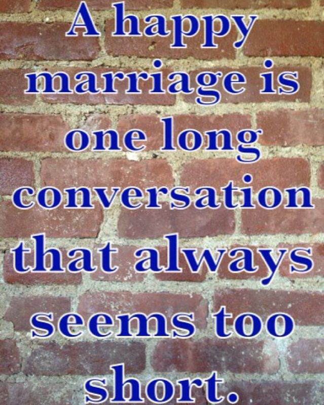 Marriage wisdom