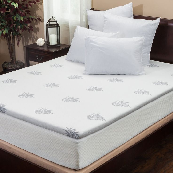 Silica Gel 2 King Size Memory Foam Mattress Topper Maximize Your Sleeping Experience With The
