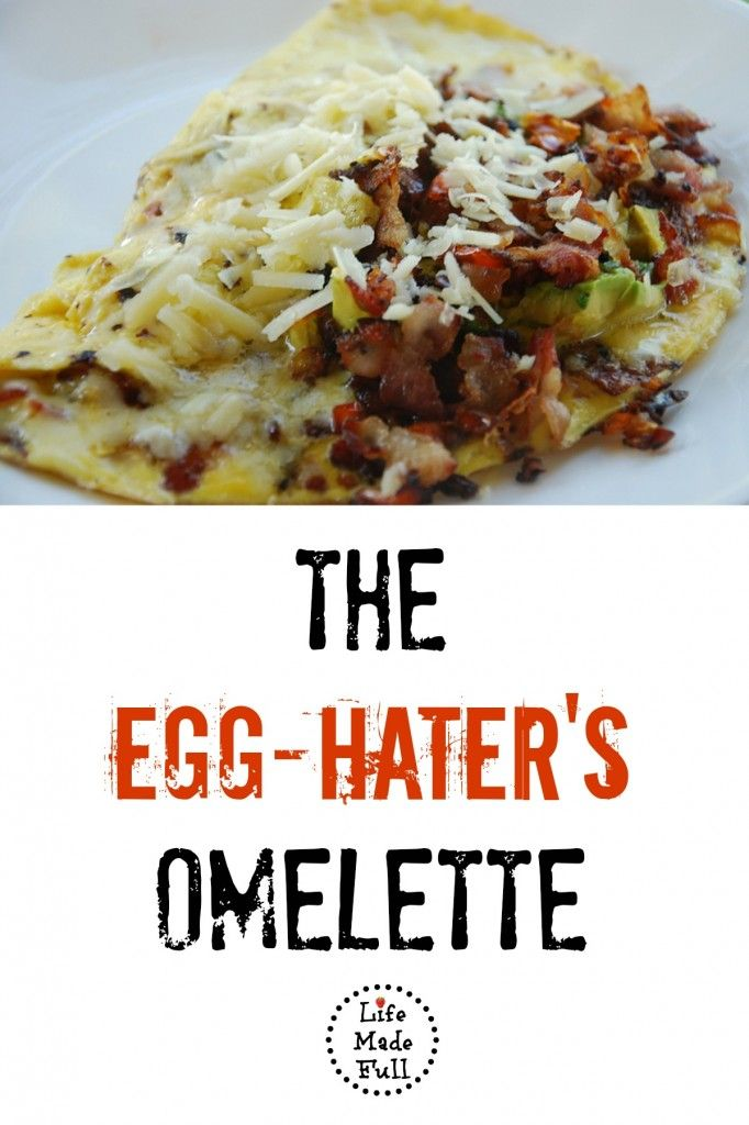 The Egg-Hater's Omelette - Deviled egg recipe that will truly satisfy your feel of hunger in the morning! - Whole30