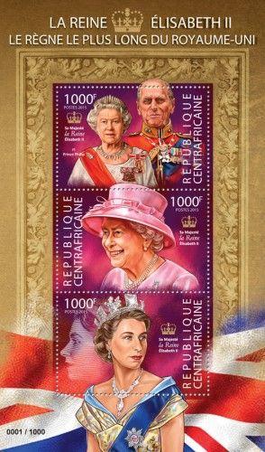 CA15325a Elisabeth II, the longest reigning queen (Her Majesty Queen Elizabeth II and Prince Philip)