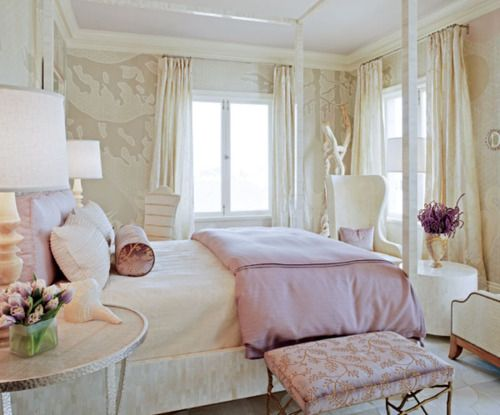 soft and dreamy: Idea, Dreams, Girls Bedrooms, Teens Girls, Interiors Design, Soft Color, Traditional Home, Guest Rooms, Girls Rooms