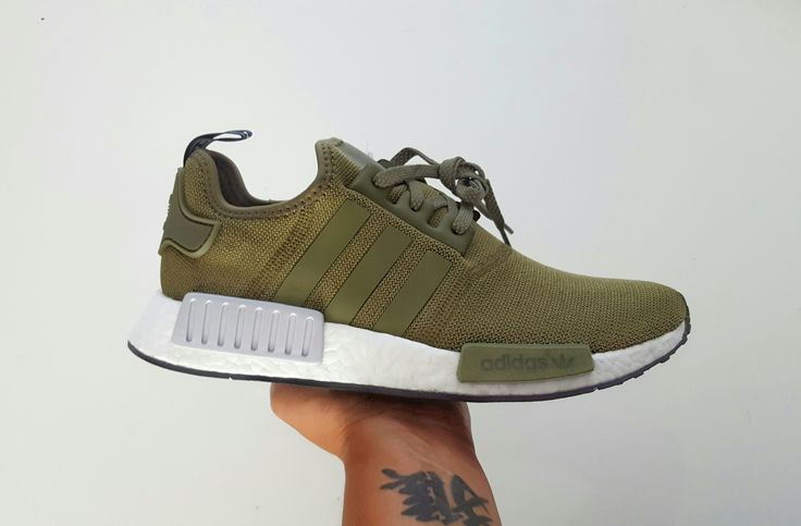 Adidas nmd r1 runner. Footlocker eu exclusive Olive