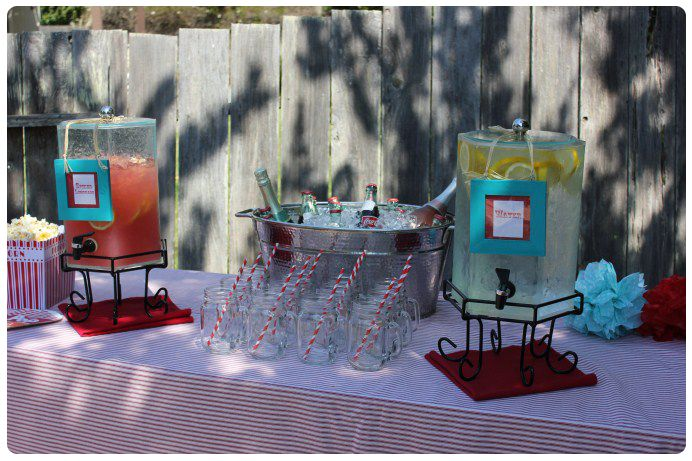 circus themed bridal shower-Bevearge Station