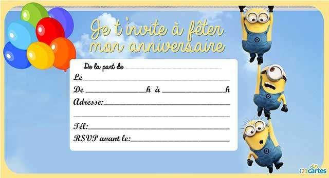 17 Best images about Anniversaire enfant invitation on Pinterest | Bonbon, Baking birthday ...
