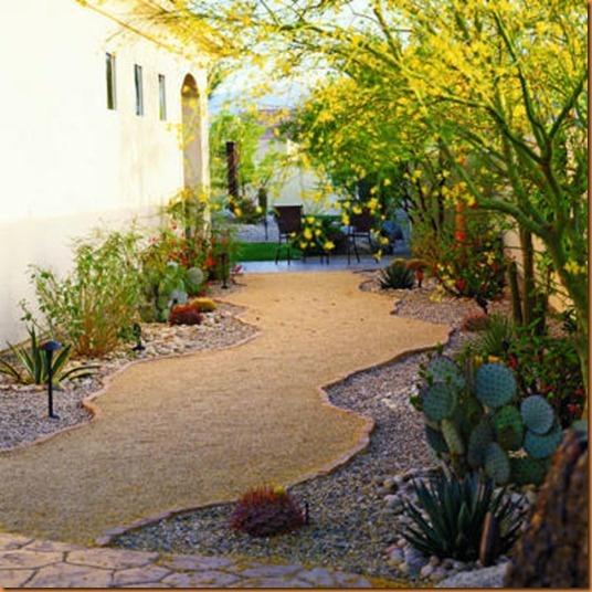 Curvy Crushed Rock Path Gorgeous Gardens Garden Paths Landscape Design
