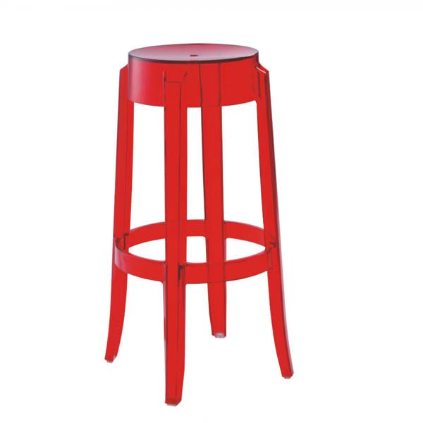 Hip Furniture   CHARLES GHOST BAR STOOL   The Classic Ghost Chair Is Also A  Stool