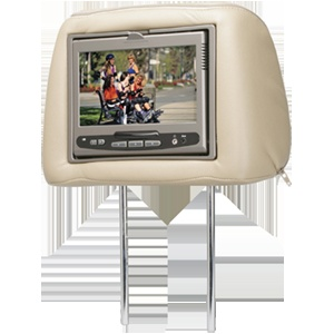 MMD7HRPKG - Dual universal replacement headrest system with built-in DVD player  $399