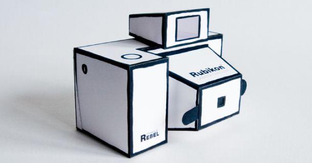 Sténopé Rubikon en Papercraft | Paper-Toy.fr