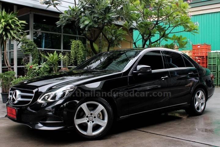 ขายรถเก๋ง MERCEDES-BENZ E-CLASS เมอร์เซเดส-เบนซ์ รถปี2013 สีดำ รหัสประกาศ 5983