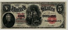 Series 1907 $5 Five Dollar United States Legal Tender Note FR #91 FINE  2933