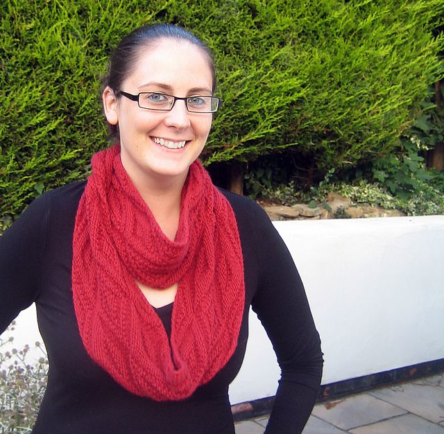 Ravelry: Inversion Cowl pattern by Michelle May