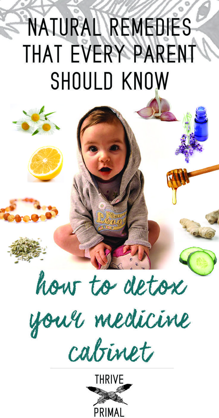 Natural remedies that every parent should know: Go-to holistic remedies for common health issues in children and babies. How to detox your medicine cabinet.