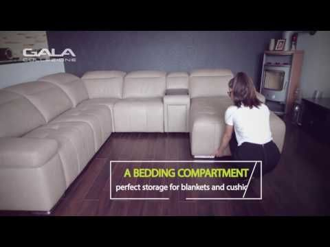 Modular system Domo - see the movie and know features and functionalities of this beautiful corner sofa.