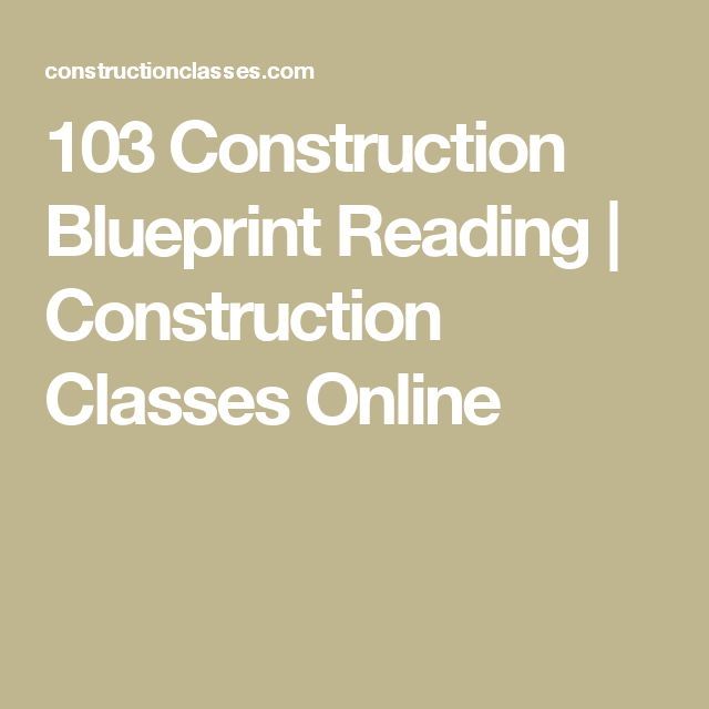 174 best tiny house images on pinterest architecture tiny homes 103 construction blueprint reading construction classes online malvernweather Choice Image
