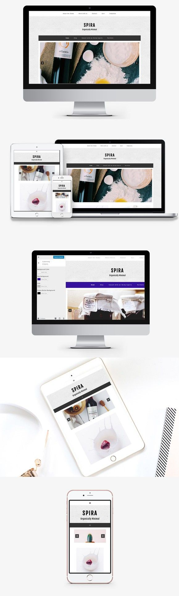 Beauty Salon & Spa WordPress Theme. WordPress Minimal Themes. $5.00