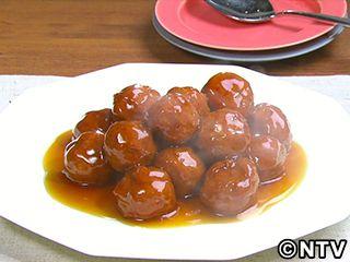 黒酢肉だんご