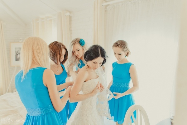 бирюзовая свадьба в стиле прованс  #wedding #autumn #bride #blue