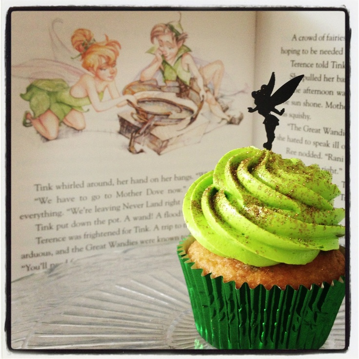 Tinkerbell cupcakes from Tumblr