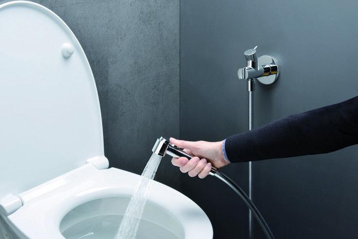 Handbrause für WC und Bidet - Cristina Rubinetterie - Italien