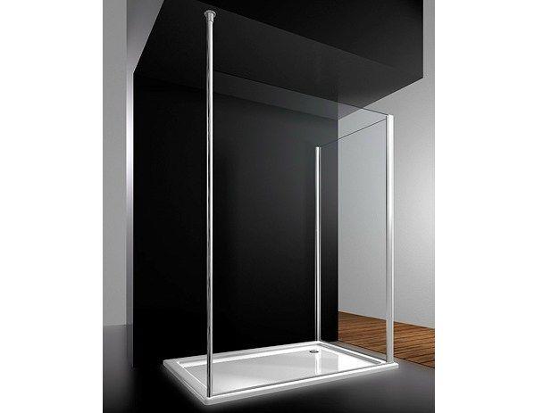 Box doccia su misura in cristallo SK-IN S2 SJ by VISMARAVETRO design Centro Progetti Vismara