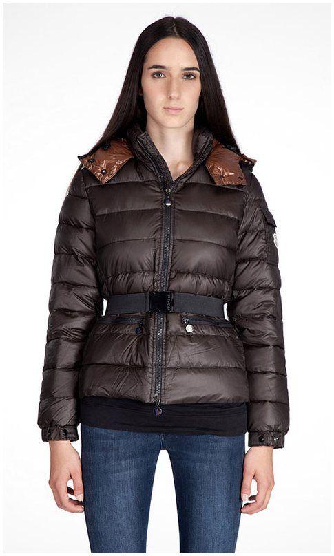 Moncler sale - Moncler Aliso Down Belted Damen Jacken Neue Ankunfts