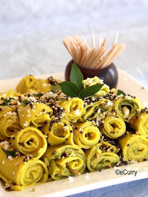 Savory Layered & Nut Stuffed Chickpea Swirls