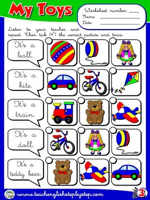 teaching english as a second language worksheets