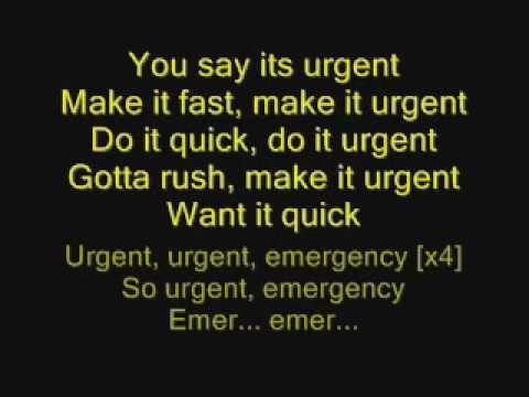 Foreigner - Urgent with lyrics