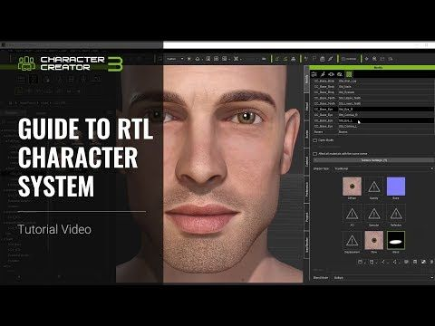 Character Creator 3 Tutorial - Guide to RTL Character System