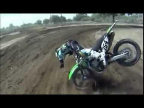 Dirt Bike Crash Good Guy Dirtbiker Helps Out After
