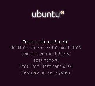 Penginstalan Ubuntu Server