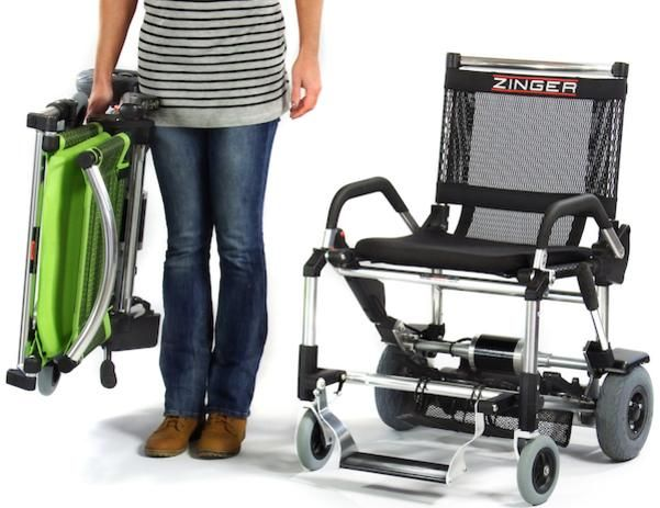 It's the Instant Folding Motorized Chair. Awarded 4 US Patents, other mobility scooters can't compare. It turns on a dime, fits in any car trunk, and unlike 3 and 4 wheel mobility scooters, it wont tip in the turns. Free Shipping to the US 48 - comes to you Fully Assembled.