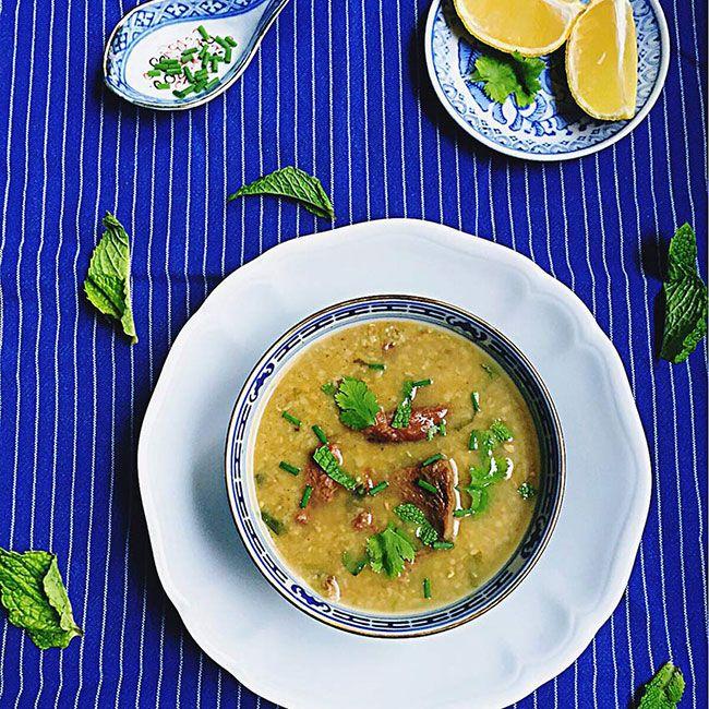 Haleem : soupe épicée d'agneau de l'Île Maurice