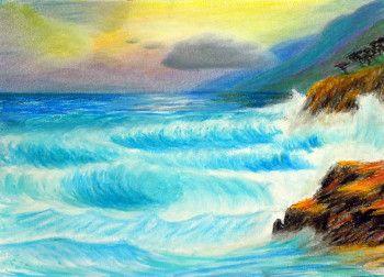 Lectia 05 - Cum pictam marea si valurile sale