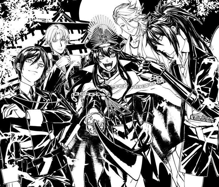 Pinterest Anime artwork, Anime, Touken ranbu