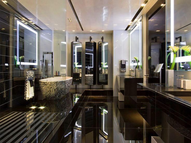 Die besten 25+ Zebramuster badezimmer Ideen auf Pinterest Zebra - interieur design moderner wohnung urbanen stil