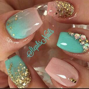 25 beautiful mint green nails ideas on pinterest mint acrylic 25 beautiful mint green nails ideas on pinterest mint acrylic nails mint nails and tiffany nails prinsesfo Gallery