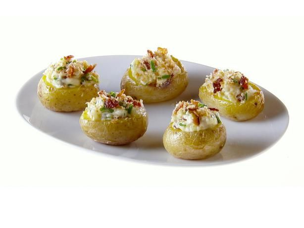 Mini Twice-Baked Potatoes recipe from Giada De Laurentiis via Food Network
