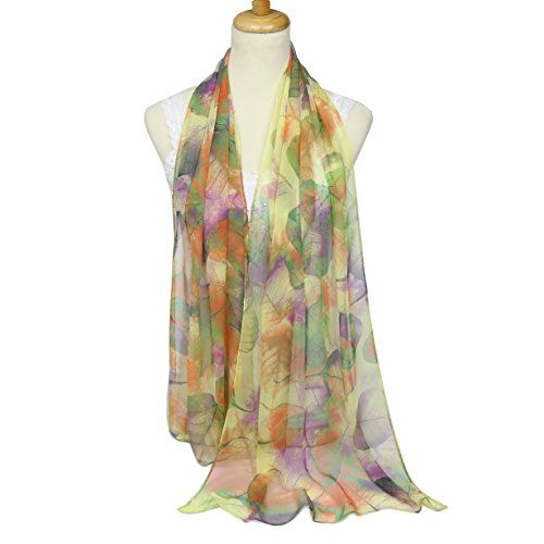 01c8b479f0468 ChikaMika Scarves for Women Top Quality Soft Voile Silk Scarf Lightweight  Wrap and Shawl