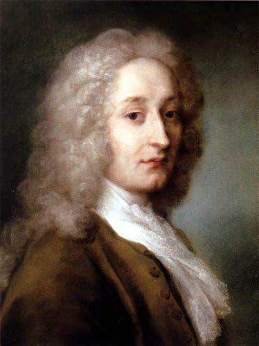 Jean Antoine Watteau, né à Valenciennes le 10 octobre 1684 et mort à Nogent-sur-Marne le 18 juillet 1721, est un peintre français. Il est un des créateurs représentants du mouvement rococo. Malgré une carrière brève d'une quinzaine d'années, il a connu le succès de son vivant et a laissé une œuvre considérable, des milliers de dessins et plus de deux cent tableaux que les princes d'Europe et les collectionneurs privés s'arrachaient.