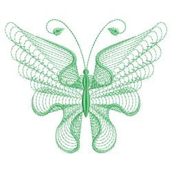 Rippled Butterflies 04(Sm) machine embroidery designs